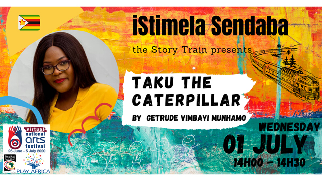 isitimela Sendaba - The Story Train: Taku the Caterpillar