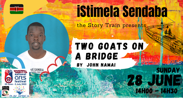 isitimela Sendaba - The Story Train: Two Goats on a Bridge
