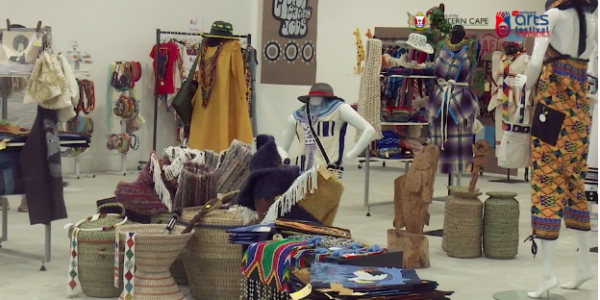The Eastern Cape Department of Sport, Recreation, Arts and Culture's pop-up shop for Eastern Cape crafters in the Bay West Mall in Gqeberha